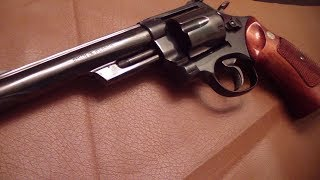 A look at a vintage s&w model 29-2 a classic 1970's pinned & recessed cylinder model. The Dirty Harry comes to life!! BATJAC...