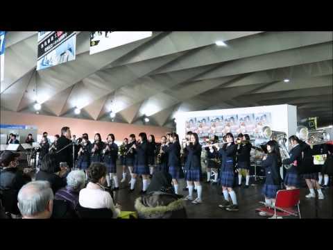 横浜市立港中学校吹奏楽部 2014/03/23