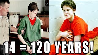 Top 10 KIDS Who Served Crazy PRISON Sentences