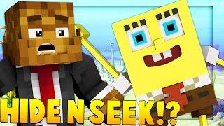 Minecraft Spongebob Modded Hide And Seek on Bikini Bottom