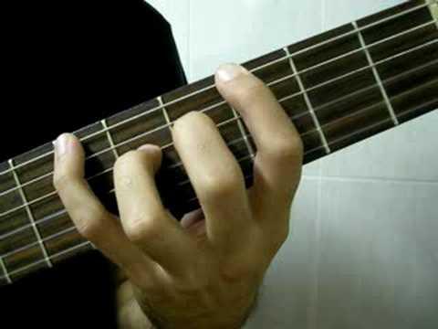 Ejercicio de independencia de dedos y ligados