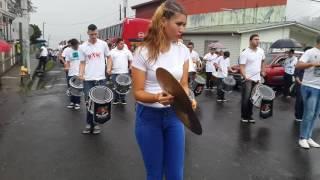 BINR DE HEREDIA DE C.R.EN UN DESFILE MAS PACAYAS CARTAGO.