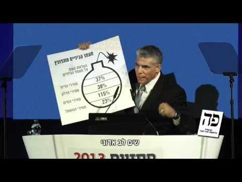 Don Futterman survey's Israeli centrist party Yesh Atid's recent election ads.