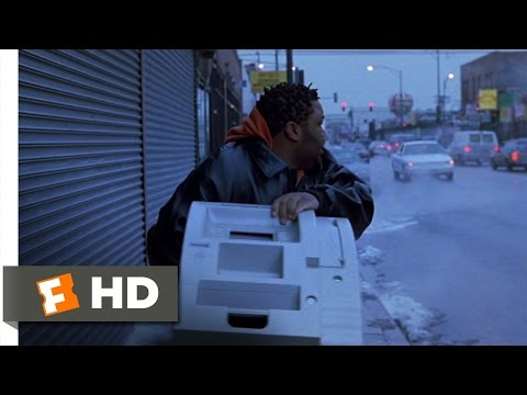 Barbershop (8/11) Movie CLIP - Stealing the ATM (2002) HD