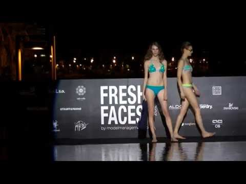 Fresh Faces 2013 Swimsuit catwalk by Model  Management (видео)