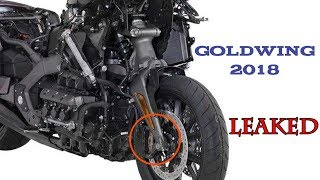 8. Honda Goldwing 2018 Specs and Features Leaked