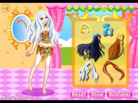 How To Play Cat Girl Dress Up Shockwave Girls Games