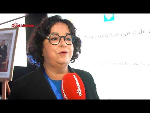 Latifa Akharbach interview La Quotidienne régulation des médias à l'ère du numérique