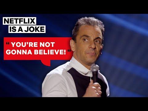 Sebastian Maniscalco Can't Wait to Spill Family Drama   Netflix Is A Joke
