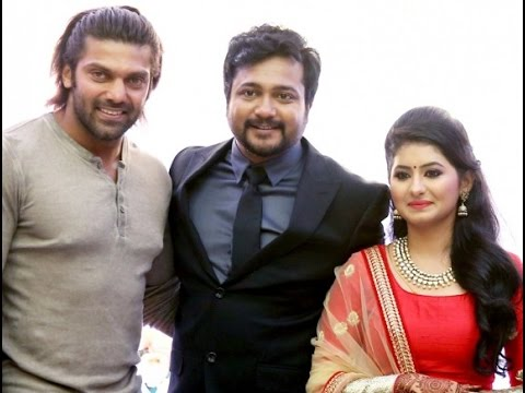 Vivek-Arya-and-Rana-at-Bobby-Simha-and-Reshmi-Wedding-Reception
