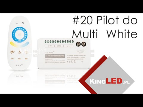 Pilot Mi Light do taśmy LED Multi White 2700K-7000K #20 - Poradnik od KINGLED_pl
