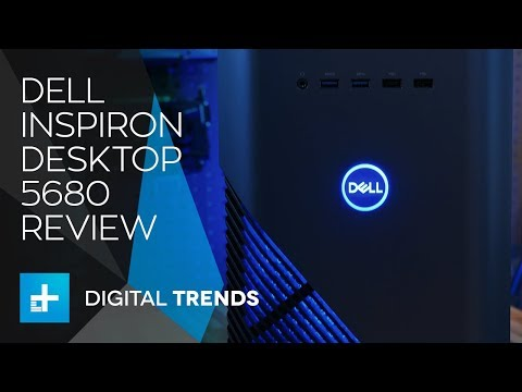 Dell Inspiron Desktop 5680 Gaming PC - Hands On Review