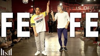 "Video 6ix9ine - ""FEFE"" ft Nicki Minaj Dance 