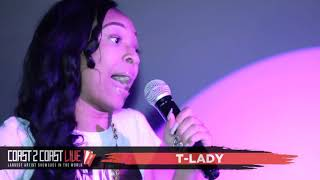 T-Lady Performs at Coast 2 Coast LIVE | Atlanta All Ages Edition 8/27/17 - 2nd Place