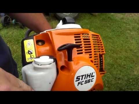 Stihl FC 56 C Edger (видео)