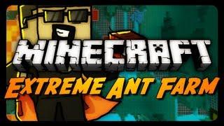 Extreme Ant Farm Survival - Ep. 14 - Wall Hacking Skeleton!