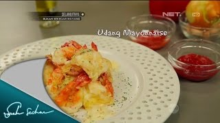 Masak On Sarah with Chef Sandra – Udang Mayonnaise
