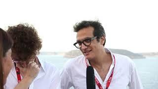 Niccolò Gentili e Ignacio Paurici con Paradiso all'Ischia Film Festival 2018