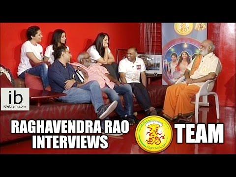 Raghavendra Rao interviews Size Zero Team