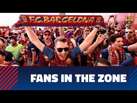 COPA DEL REY FINAL 2019 | Barça Fans Getting In The Mood For The Game Against Valencia