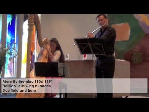 Idillico – Marc Berthomieuaus (Cinq nuances), Silke Aichhorn – Harfe / Harp
