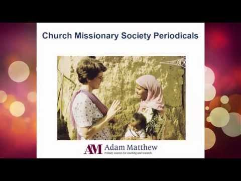 Overview: Church Missionary Society Periodicals