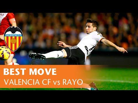 Best Move: Valencia CF vs Rayo Vallecano (3-0, 13/12/14)