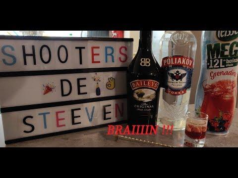 SHOT VODKA/BAILEY'S (BRAIN) - Shooters