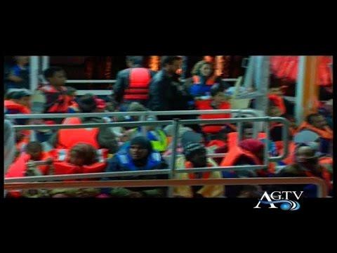 Porto Empedocle, arrivati ieri sera 327 migranti