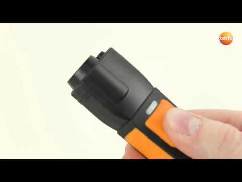How To testo Smart Probes App. 08. Проведение бесконтактных измерений температуры с testo 805i