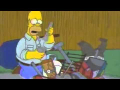 The Simpsons-Homer's BBQ Pit