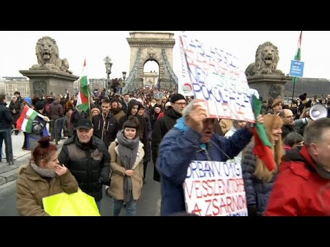 Ungarn: Erneut Proteste gegen die Regierung von Ministerpräsident Orban