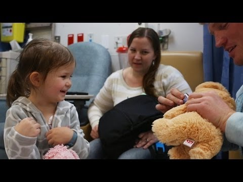 Magic at a children s hospital