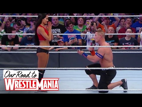 Video John Cena and Nikki Bella are engaged! 😍👫❤ - Courtesy of WWE Network download in MP3, 3GP, MP4, WEBM, AVI, FLV January 2017