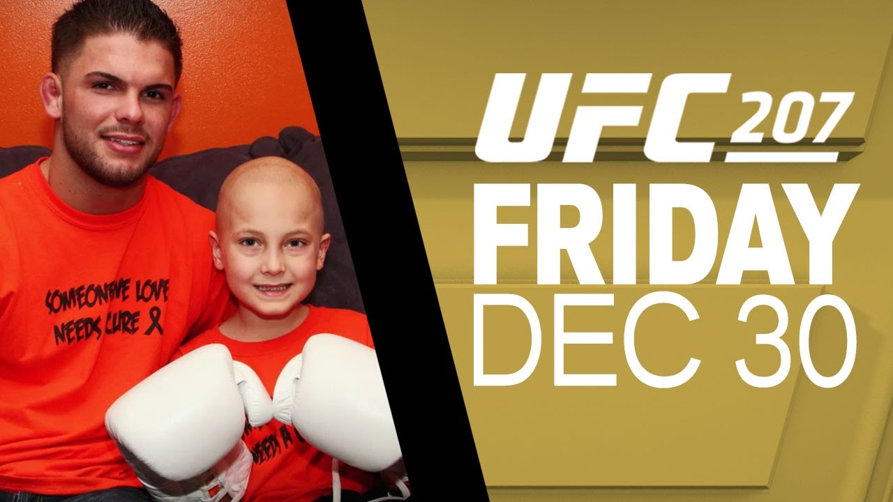 UFC 207: Cody and Maddux - Friends Forever