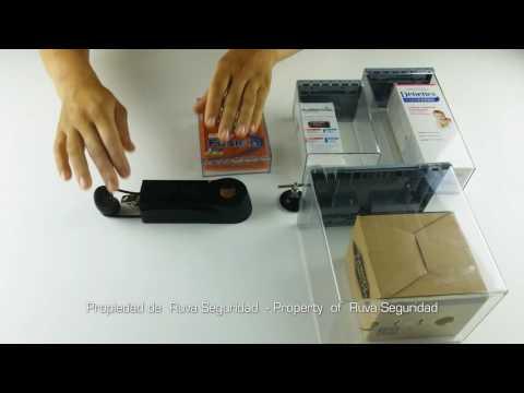 Contenedor Protector para Sistemas Antihurtos 3D model