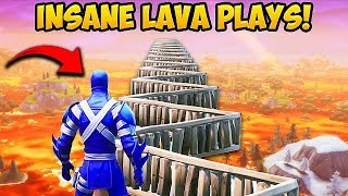 FLOOR IS LAVA *INSANE PLAYS* - Fortnite Funny Fails and WTF Moments! #511