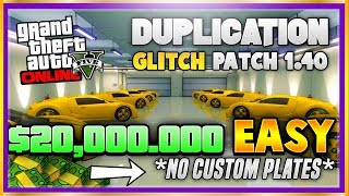 "YOU CAN NOW DUPLICATE & SELL ANY CAR! NEW Unlimited Car Duplication Glitch 1.40 (GTA 5 Money Glitch) (Xbox One, Ps4, PC) ♛ DIRECTOR -  GlitchGaming (Help Him Get 5K) ► http://bit.ly/SubToGlitchGaming ◄►ROAD TO 150K! Join the #PrestigeFam and Subscribe! ✔🔔👆Turn on Post Notifications👆🔔✔ http://bit.ly/SubToPmHD► The Prestige Community WEBSITE - Submit videos, Cheap GFX & More! http://prestigecommunity.weebly.com/ Founders: Founders: GlitchSquad/Darkmannie/McFlury/killerGaming/obeseGerraffeJF Games: (Helped With Gameplay) https://www.youtube.com/channel/UCiYhFihbmHYWe6OtB5fB6fg▬▬▬▬▬▬▬▬▬ஜ۩♛ DOPE GFX, INSTANT GTA CASH & RANK,  COD RECOVERIES AND MORE!  ♛۩ஜ▬▬▬▬▬▬▬▬▬★ For Cheap, Reliable GTA V Accounts and INSTANT GTA Cash + Rank: ​https://goo.gl/PPD27p ★ For Cheap Games, Call of Duty Modded Accounts and Recoveries, In-game items, gaming accessories and more! https://goo.gl/rvjMQK Use code - 'PMHD' for 5% OFF!★ Need Intros or GFX? Buy Cheap Professional Designs from PrestigeStudios! (My team) http://prestigecommunity.weebly.com/gfx-shop.html▬▬▬▬▬▬▬▬▬ஜ۩♛ Join The Prestige Community ♛۩ஜ▬▬▬▬▬▬▬▬▬▼ Want to be Featured on PmHD? ▼Subscribe and Submit your Glitches, Tips and Tricks videos to our website! http://prestigecommunity.weebly.com/submit-your-videos--contact.htmlTwitter: https://twitter.com/PrestigeMontageFB: http://bit.ly/PmHDFBSubscribe: https://www.youtube.com/c/PmHD?sub_confirmation=1♛ Subscribe to our Prestige Channels ♛PmHD (100K+ GTA): https://www.youtube.com/c/PmHD?sub_confirmation=1PrestigeGaming (15K+ Gaming): https://bitly.com/SubPrestigeGamingPrestigeMusick (8K Music): http://www.youtube.com/PrestigeMusick?sub_confirmation=1  ▬▬▬▬▬▬▬▬▬ஜ۩♛ INTRO SONG ♛۩ஜ▬▬▬▬▬▬▬▬▬My Music channel: https://www.youtube.com/user/PrestigeMusick  Intro song - https://www.youtube.com/watch?v=ZeLeAgQ_DtoOutro Song - https://www.youtube.com/watch?v=BbZP3zCLBrM▬▬▬▬▬▬▬▬▬ஜ۩♛ 10 Popular GTA 5 Online GunRunning DLC Glitches Not to Miss! ♛۩ஜ▬▬▬▬▬▬▬▬▬► GTA 5 Online TOP 10 GLITCHES 1.40! (NEW) 10 BEST WORKING GLITCHES GTA 5 1.40 (Top 10 Glitches 1.40) http://youtu.be/NeCoPZe9SKk► GTA 5 Online TOP 10 CLOTHING GLITCHES 1.40! NEW BEST 10 GUNRUNNING Outfit Glitches! Top 10 Glitches 1.40 http://youtu.be/w-VCsr8F7gM► GTA 5 Online TOP 5 GLITCHES 1.40! (NEW) FREE $30,000,000 GLITCH, 100% INVISIBLE BODY, RARE CLOTHING! http://youtu.be/-g17pseXp7E ► GTA 5 Online TOP 5 CLOTHING GLITCHES 1.40! *NEW* DIRECTOR MODE GLITCH 1.40, RARE JOGGERS, INVISIBLE ARMS! http://youtu.be/7tBluIaowgk► FINALLY! GTA 5 Online ''XBOX ONE'' & PS4 DIRECTOR MODE GLITCH 1.40! SOLO GTA 5 ''Money Glitch 1.40'' http://youtu.be/r-YbkDu1r-k► GTA 5 CHECKERED OUTFIT GLITCH 1.40! (NEW) SOLO 'CHECKERBOARD OUTFIT' TUTORIAL GTA 5 Online 1.40 https://www.youtube.com/watch?v=63XipThzvAY► OMG! NEW $10,000,000 /HR ''SOLO'' MONEY GLITCH! GTA 5 Online 1.40 *SOLO* ''UNLIMITED MONEY GLITCH'' http://youtu.be/8Ev84bLKHYE► GTA 5 RP GLITCH 1.40! *SOLO* ''UNLIMITED RP GLITCH 1.40'' Level Up FAST AND EASY 1.40 (PS4/Xbox /PC) http://youtu.be/edYOw7g-XAs► GTA 5 GUNRUNNING GLITCHES 1.40! *NEW* MILITARY ''MODDED OUTFIT GLITCH 1.40'' (Clothing Glitches 1.40) http://youtu.be/dtMbuEDpvP8► GTA 5 Online TOP 3 MODDED OUTFITS 1.40! GUNRUNNING Modded Outfit Glitches Using Clothing Glitches! https://www.youtube.com/watch?v=jjUQeyxYwp0▬▬▬▬▬▬▬▬▬ஜ۩♛ A Personal Note From Xav ♛۩ஜ▬▬▬▬▬▬▬▬▬ Hey #PrestigeFam! Thanks for watching guys! Help us reach 150,000 Subscribers by rating the videos and leaving feedback! Stay tuned, Stay Prestige ✌️✌️#PrestigeFam #PrestigeCommunity-Xav, PmHD♛ Fair Use Disclaimer:♛ COPYRIGHT DISCLAIMER UNDER SECTION 107 OF THE COPYRIGHT ACT 1976 - Copyright Disclaimer Under Section 107 of the Copyright Act 1976, allowance is made for ""fair use"" for purposes such as criticism, comment, news reporting, teaching, scholarship, and research. Fair use is a use permitted by copyright statute that might otherwise be infringing. Non-profit, educational or personal use tips the balance in favor of fair use"