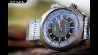 Watch Review: The Vintage-Inspired Oris ChronOris Date