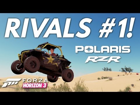 Forza Horizon 3│Rivals #1 & Tuning Guide (Redstone Cross Country Circuit)