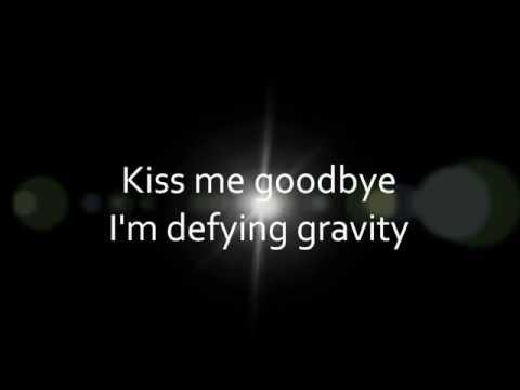 Idina Menzel - Defying Gravity (lyrics on screen)