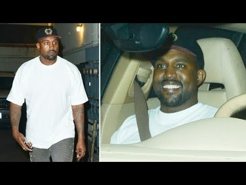 Kanye West Looking Upbeat As Feud With Jay Z May Soon Be Settled