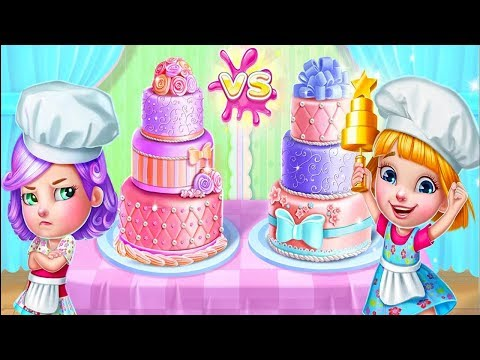 Real Cake Maker 3D - Kids Learn How To Make Cakes - Fun Cooking Game For Kids
