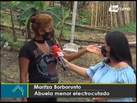 Menor de 8 años falleció electrocutado en Flor de Bastión en Guayaquil