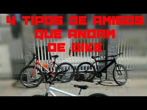 Frases de amigos - 4 tipos de amigos que andam de bike!! #1