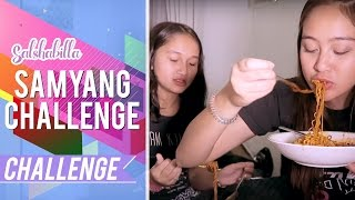 Video Salshabilla #CHALLENGE - GAK ADA APA-APANYA!! (SAMYANG CHALLENGE WITH NABILA) MP3, 3GP, MP4, WEBM, AVI, FLV Februari 2018