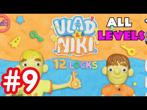 Vlad and Niki 12 Locks Full levels