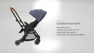 video thumbnail Heraxis Edge Baby Stroller youtube