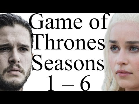 Game of Thrones Seasons 1  6 in 5 Minutes