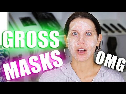 GROSS FACE MASKS TESTED ... OMG ???